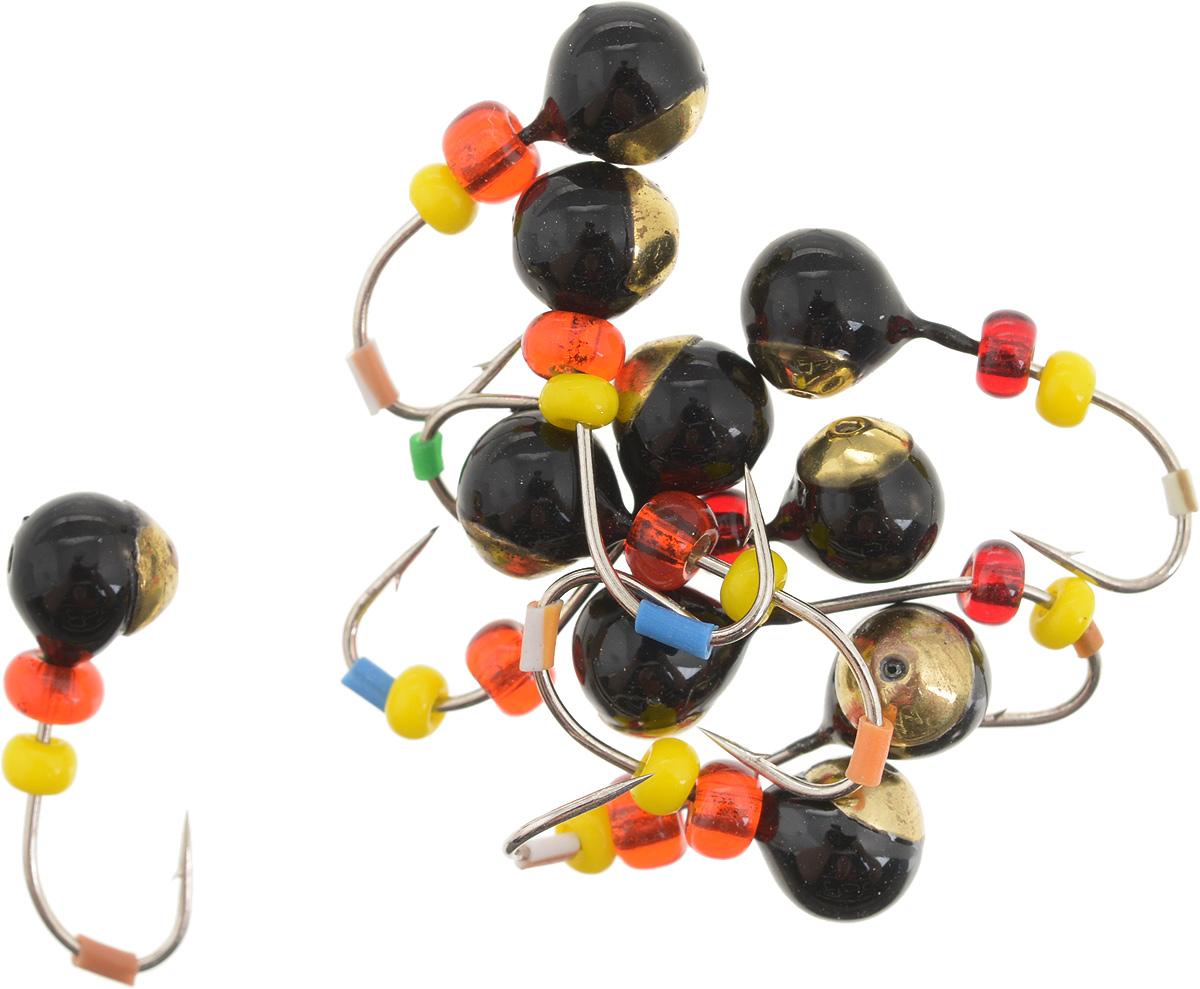 Мормышка вольфрамовая Dixxon Шар, с отверстием, с бисером, диаметр 4,5 мм, 0,95 г, 10 шт. 5941559415Мормышка Dixxon Шар изготовлена из вольфрама и оснащена крючком. Главное достоинство вольфрамовой мормышки - большой вес при малом объеме. Эта особенность дает большие преимущества при ловле, так как позволяет быстро погрузить приманку на требуемую глубину и лучше чувствовать игру мормышки. Подходит для подледной ловли.