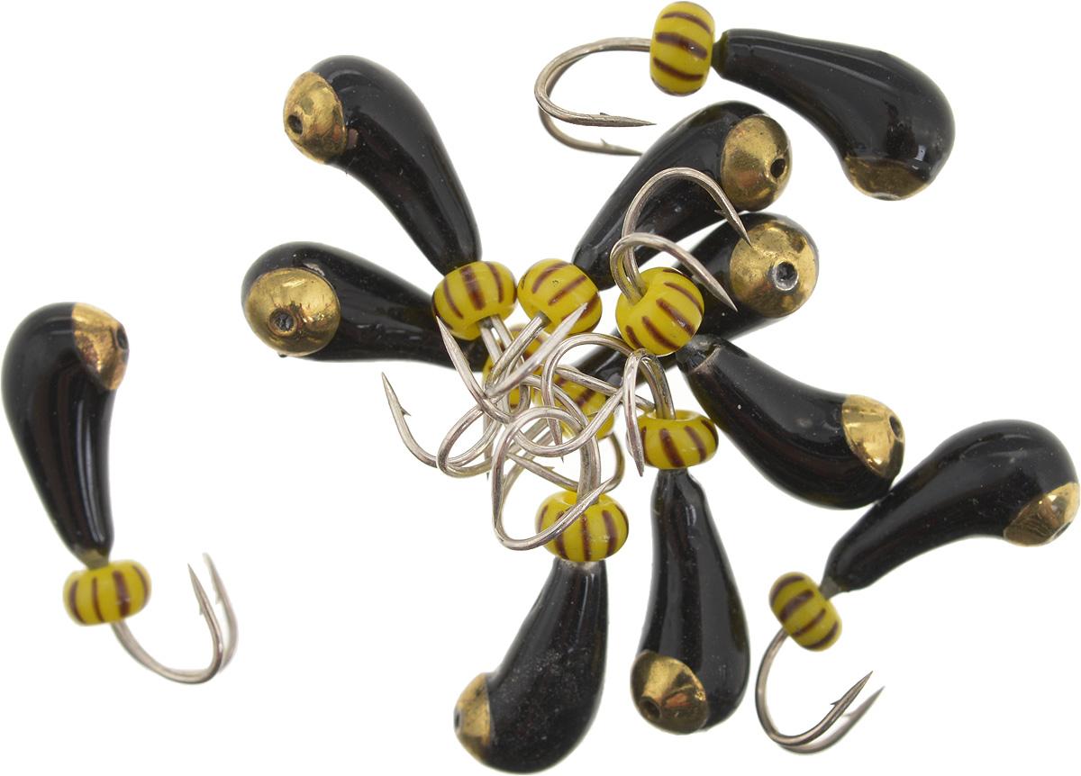 Мормышка вольфрамовая Dixxon Чесночинка, с отверстием, с бисером, диаметр 3,5 мм, 1 г, 10 шт. 5939759397Мормышка Dixxon Чесночинка изготовлена из вольфрама и оснащена двойным крючком. Главное достоинство вольфрамовой мормышки - большой вес при малом объеме. Эта особенность дает большие преимущества при ловле, так как позволяет быстро погрузить приманку на требуемую глубину и лучше чувствовать игру мормышки. Подходит для подледной ловли.