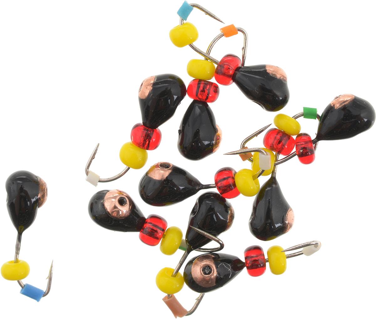 Мормышка вольфрамовая Dixxon Капля, с отверстием, с бисером, диаметр 3 мм, 0,45 г, 10 шт. 5937259372Мормышка Dixxon Капля изготовлена из вольфрама и оснащена крючком. Главное достоинство вольфрамовой мормышки - большой вес при малом объеме. Эта особенность дает большие преимущества при ловле, так как позволяет быстро погрузить приманку на требуемую глубину и лучше чувствовать игру мормышки. Подходит для подледной ловли.