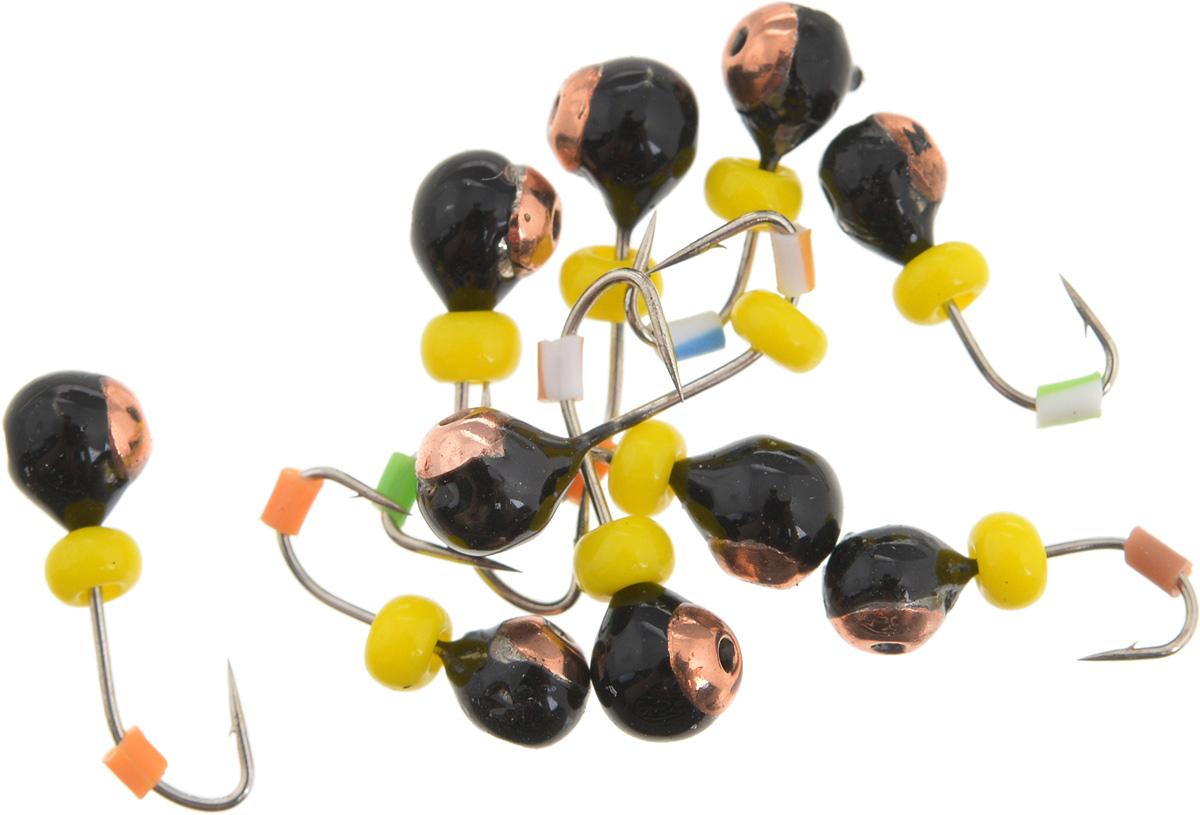 Мормышка вольфрамовая Dixxon Шар, с отверстием, с бисером, диаметр 2,5 мм, 0,2 г, 10 шт. 5940459404Мормышка Dixxon Шар изготовлена из вольфрама и оснащена крючком. Главное достоинство вольфрамовой мормышки - большой вес при малом объеме. Эта особенность дает большие преимущества при ловле, так как позволяет быстро погрузить приманку на требуемую глубину и лучше чувствовать игру мормышки. Подходит для подледной ловли.