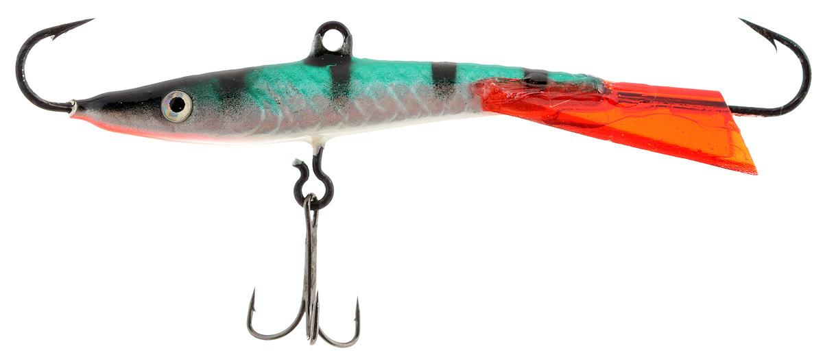 Балансир Finnex, длина 8 см, вес 15 г. BL-08-MSTBL-08-MSTБалансир Finnex удлиненной формы с игрой широкого радиуса и наклонами на поворотах предназначен для ловли крупного окуня и щуки. Форма этого балансира напоминает мелкую рыбку. Балансир оснащен блестящим глазком, что делает его более заметным и позволяет привлечь рыбу с более дальнего расстояния. Изделие изготовлено из прочного свинцового сплава с элементами пластика.
