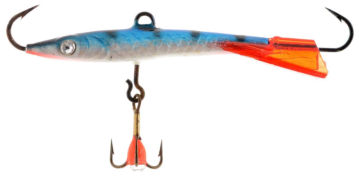 Балансир Finnex Swarovski, длина 6 см, вес 7 г. BLS-06-FSTBLS-06-FSTБалансир Finnex удлиненной формы с игрой широкого радиуса и наклонами на поворотах предназначен для ловли средних рыб на мелководье и в стоячей воде, в основном для ловли окуня. Форма этого балансира напоминает мелкую рыбку. Балансир оснащен блестящим глазком из кристалла Swarovski, что делает его более заметным и позволяет привлечь рыбу с более дальнего расстояния. Изделие изготовлено из прочного свинцового сплава с элементами пластика.