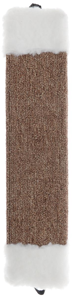 Когтеточка Elite Valley, с пропиткой, цвет: коричневый, белый, длина 42 смКТ-1_коричневый, белыйКогтеточка с пропиткой Elite Valley поможет сохранить мебель и ковры в доме от когтей вашего любимца, стремящегося удовлетворить свою естественную потребность точить когти. Когтеточка изготовлена из ДСП и обтянута ковролином. Изделие продумано в мельчайших деталях и, несомненно, понравится вашей кошке. Всем кошкам необходимо стачивать когти. Когтеточка - один из самых необходимых аксессуаров для кошки.