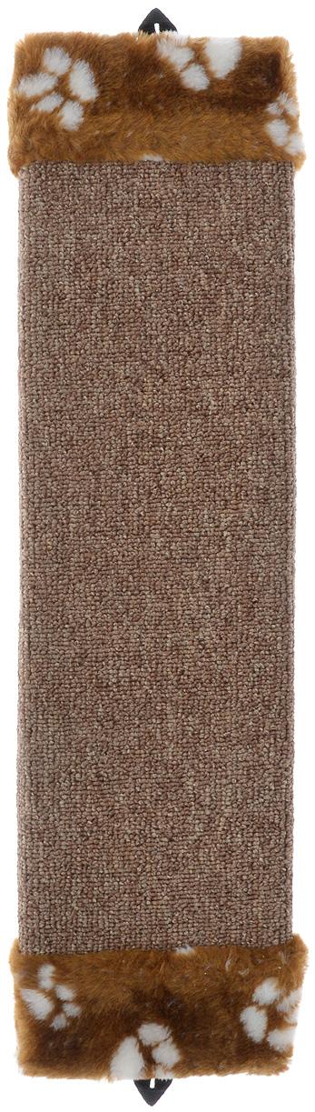 Когтеточка Elite Valley, с пропиткой, цвет: белый, коричневый, длина 51 смКТ-2_коричневый, белый, коричневыйКогтеточка с пропиткой Elite Valley поможет сохранить мебель и ковры в доме от когтей вашего любимца, стремящегося удовлетворить свою естественную потребность точить когти. Когтеточка изготовлена из ДСП и обтянута ковролином. Изделие продумано в мельчайших деталях и, несомненно, понравится вашей кошке. Такая когтеточка может крепиться на смежных поверхностях стен и пола. Всем кошкам необходимо стачивать когти. Когтеточка - один из самых необходимых аксессуаров для кошки.