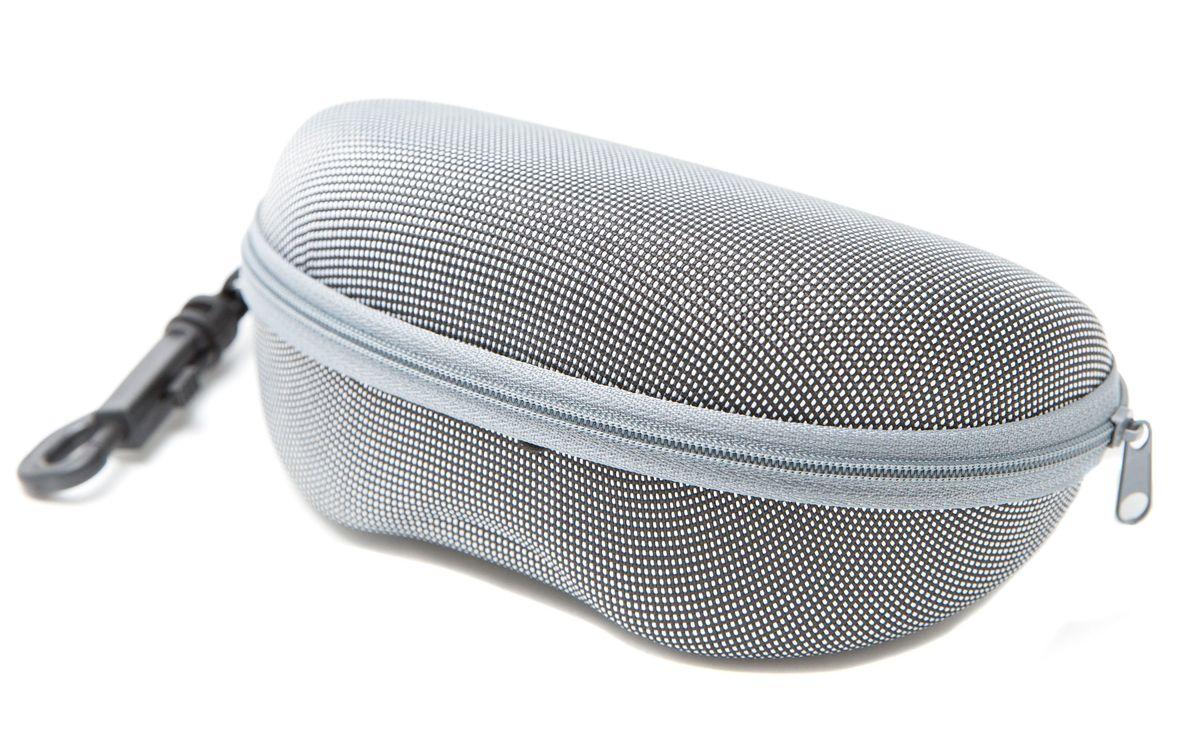 Футляр для очков Mitya Veselkov, цвет: белый, серый. CHEKH-WCHEKH-WОтличный, качественно сделанный чехол для очков оградит ваши любимые очки от пыли, поломок и прочих неприятностей. Удобно использовать для транспортировки очков.