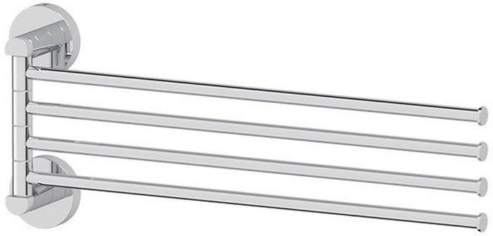 Держатель для полотенец Artwelle Harmonie, поворотный, четверной, 40 см. HAR 025HAR 025Торговая марка Artwelle принадлежит компании Santech Allianz Gmbh. Универсальный дизайн аксессуаров позволяет дополнить практически любой интерьер, а широкий ассортимент предоставляет свободу выбора. Надежность конструкции, профессиональное крепление и прочность покрытия позволяют использовать изделия не только в домашних условиях, но также и в общественных местах, включая отели. В производстве коллекций используются материалы высокого качества, что обеспечивает долговечность изделий.