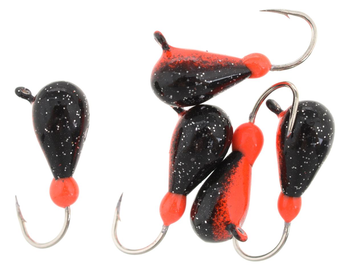 Мормышка вольфрамовая Finnex Капля с ушком, 0,95 г, 5 шт. K4-RBK4-RBМормышка Finnex Капля с ушком изготовлена из вольфрамового сплава и оснащена крючком. Главное достоинство такой мормышки - большой вес при малом объеме. Эта особенность дает большие преимущества при ловле, так как позволяет быстро погрузить приманку на требуемую глубину и лучше чувствовать игру мормышки.