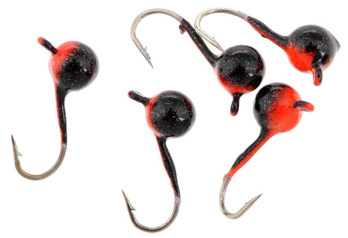 Мормышка вольфрамовая Asseri Шар, с ушком, цвет: черный, оранжевый, диаметр 3,5 мм, 0,4 г, 5 штCB3-RBМормышка Asseri Шар изготовлена из вольфрамового сплава и оснащена крючком. Она небольшого размера и окрашена так, чтобы издалека привлечь рыбу. Главное достоинство такой мормышки - большой вес при малом объеме. Эта особенность дает большие преимущества при ловле, так как позволяет быстро погрузить приманку на требуемую глубину и лучше чувствовать игру мормышки.