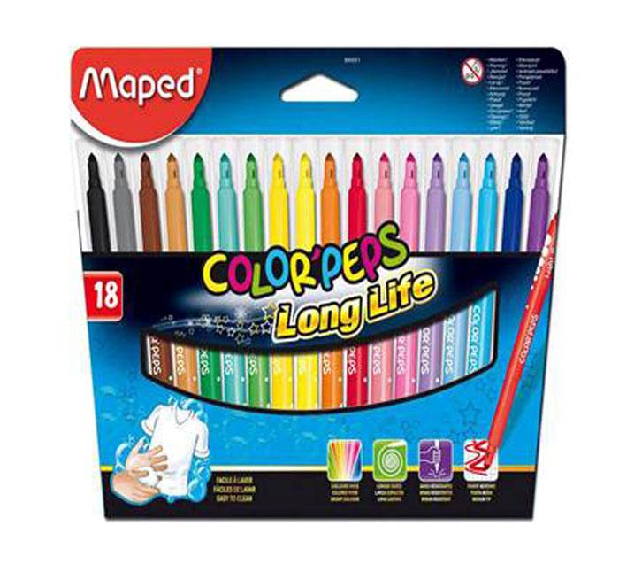Фломастеры Maped Colorpeps, 18 цветов845021