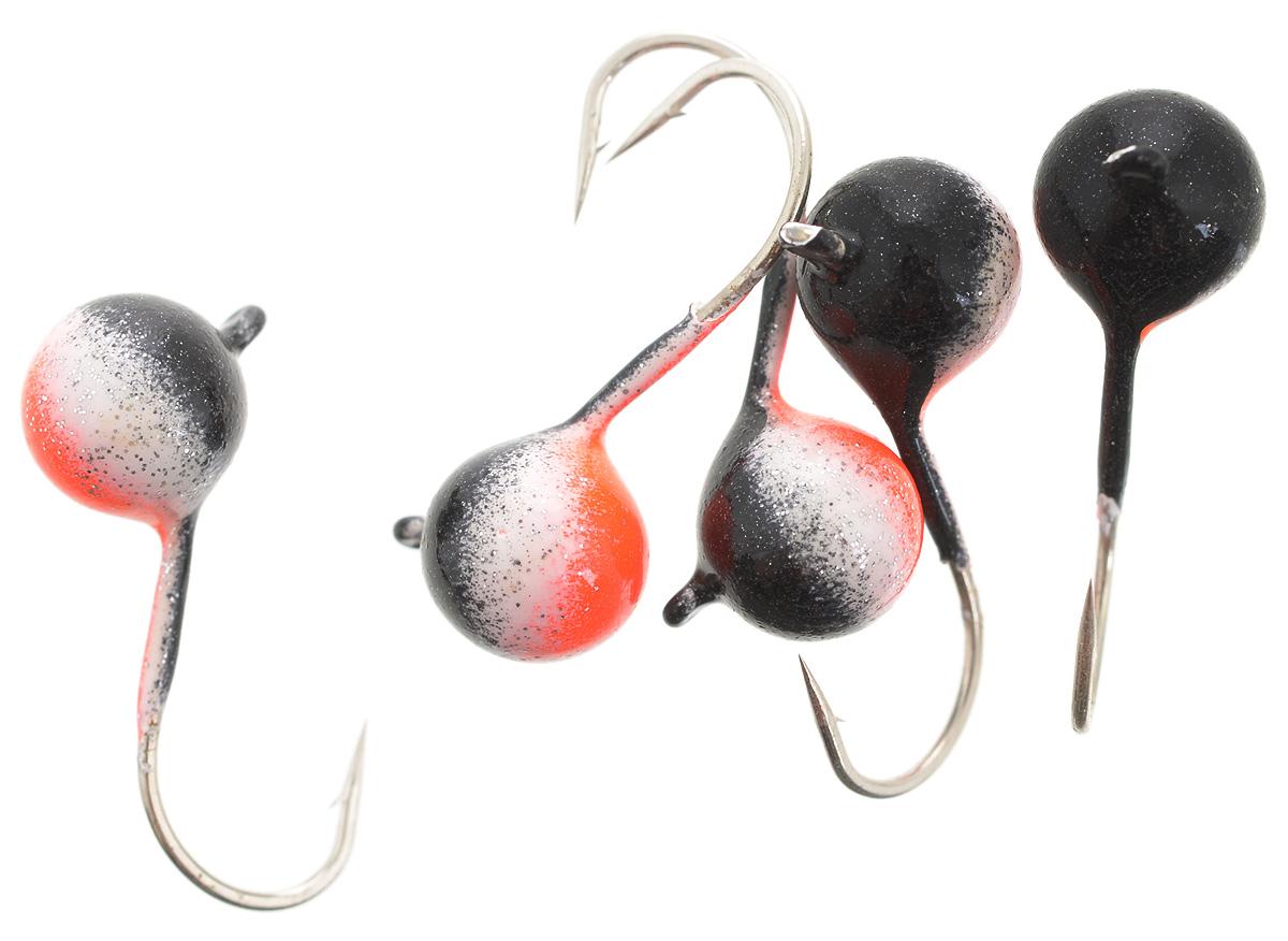 Мормышка вольфрамовая Asseri Шар, с ушком, цвет: черный, оранжевый, белый, диаметр 6 мм, 2,1 г, 5 штCB6-BPRМормышка Asseri Шар изготовлена из вольфрамового сплава и оснащена крючком. Она небольшого размера и окрашена так, чтобы издалека привлечь рыбу. Главное достоинство такой мормышки - большой вес при малом объеме. Эта особенность дает большие преимущества при ловле, так как позволяет быстро погрузить приманку на требуемую глубину и лучше чувствовать игру мормышки.
