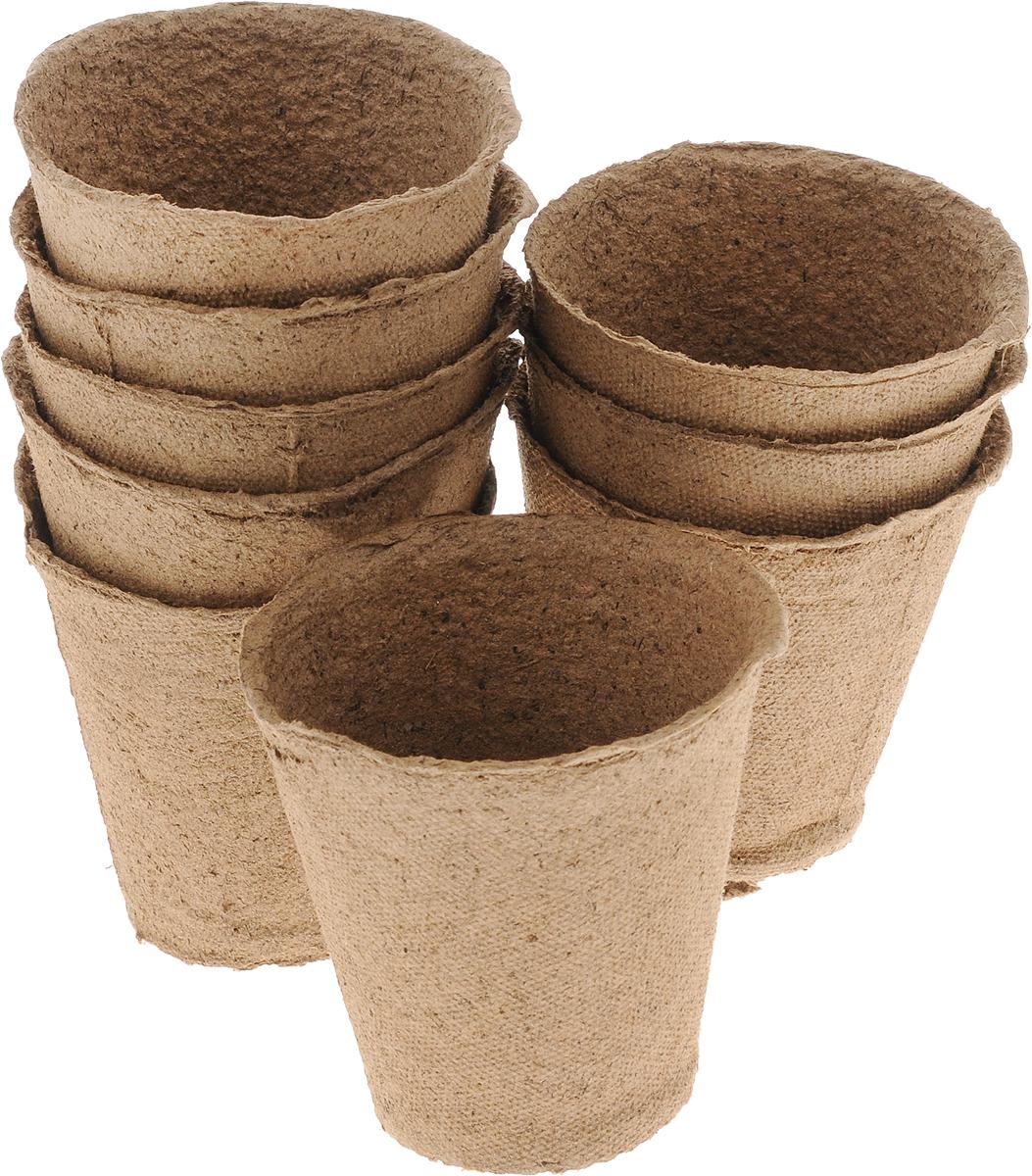 Торфяной горшочек Добрая сила, для выращивания рассады, 9 х 9 х 9,5 см, 9 штDS44140051Горшочек Добрая сила является органическим продуктом и представляет собой полую емкость, стенки которого выполнены из торфо-древесной массы с добавлением мела. Рекомендуется для лучшего прорастания накрыть горшочки стеклом или пленкой. Выращенную рассаду необходимо высаживать в грунт вместе с горшком. В комплекте 9 горшочков. Состав: торф верховой 70%, древесная масса 30%, мел, pH не менее 5,5. Размер горшка: 9 х 9 х 9,5 см.