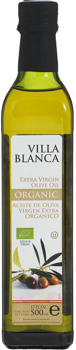 Guillen Villa Blanca масло оливковое Extra Virgin Organic, 500 мл