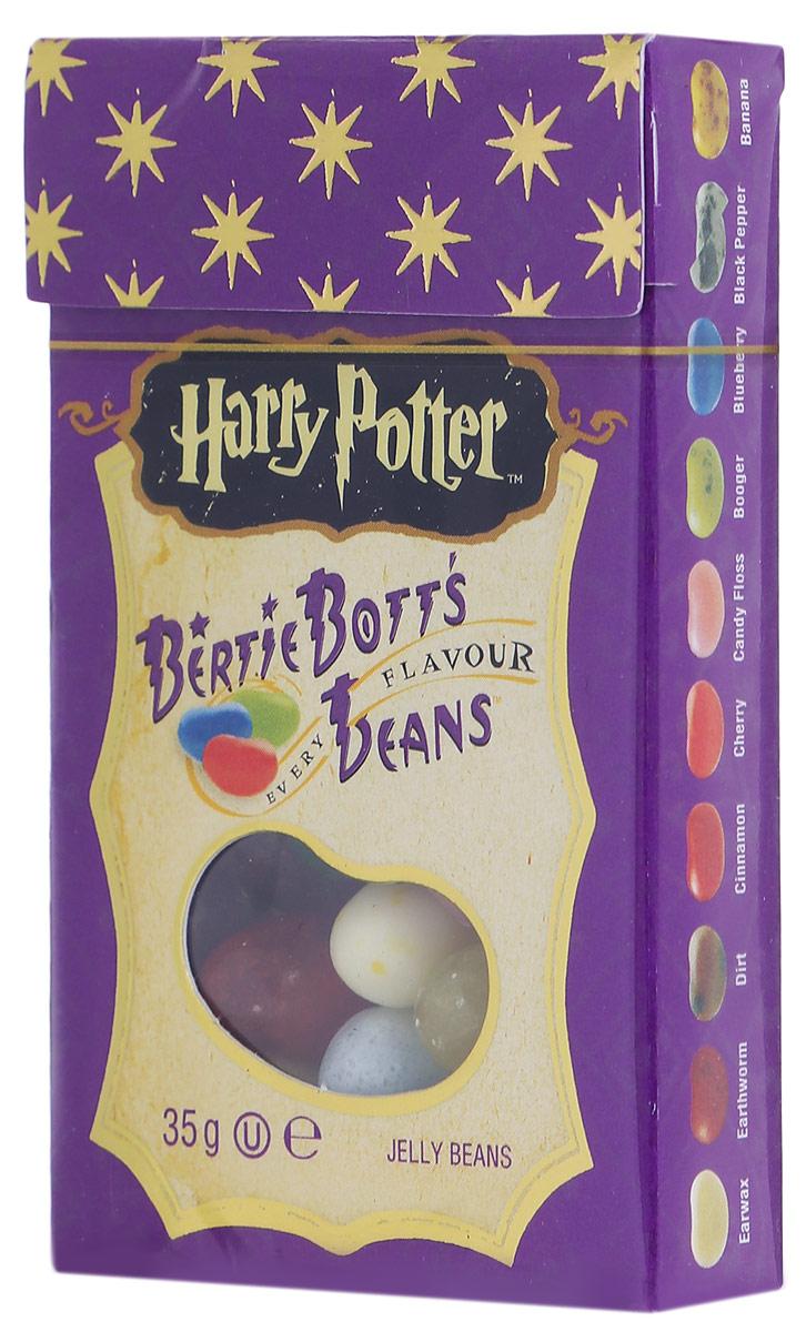 Jelly Belly Bertie Botts драже жевательное ассорти, 35 г71567998338Жевательное драже Jelly Belly Bertie Botts - это самые невероятные вкусы, собранные по всей волшебной вселенной Гарри Поттера. Ощутите себя ближе к любимым героям, почувствуйте атмосферу чародейства и волшебства вместе с Bertie Botts! Забавные желейные драже скрывают под цветной оболочкой следующие вкусы: банан, спелая вишня, свежескошенная трава, черный перец, вкус корицы, мыло, сосиска, зеленое яблоко, черника, грязь, лимон, мультифрут, сопли, земляные червяки, рвота, зефир, арбуз, ушная сера, сахарная вата, протухшее яйцо - невероятные вкусы конфет Гарри Поттера способны удивительным образом оживить любую компанию друзей или родных, подняв настроение и превратив обычный вечер в невероятно яркое, надолго запоминающееся веселое событие! Уважаемые клиенты! Обращаем ваше внимание, что полный перечень состава продукта представлен на дополнительном изображении.