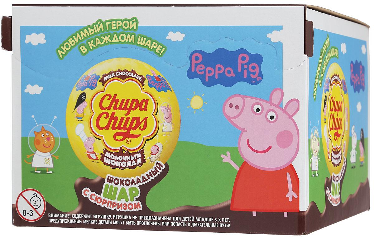Внутри каждого шоколадного шара Chupa Chups вы найдете новую игрушку, а снаружи - именно такой шоколад, как вы любите. Какая игрушка попадется вам в этот раз??? Соберите всю коллекцию и обменивайтесь с друзьями! Игрушка не предназначена для детей младше трех лет. Уважаемые клиенты! Обращаем ваше внимание, что полный перечень состава продукта представлен на дополнительном изображении.