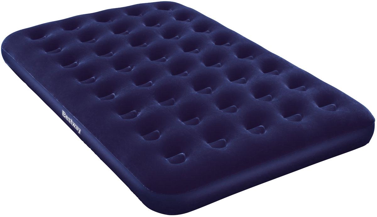 Bestway Матрас надувной Twin Plus67274Комфортное флоковое покрытие. Легкое и быстрое сдувание и надувание. Подходит для использования в помещении и на улице. Изготовлено из полимерных материалов. Размер матраса: 1,93 х 1,22 х 0,22 м.