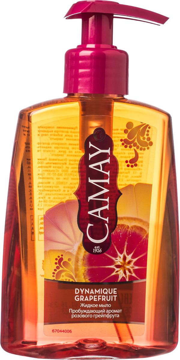 Camay Жидкое мыло Динамик 250 мл053021801Жидкое мыло Dynamique Grapefruit (Динамик) дарит коже рук энергичный аромат розового грейпфрута и белых цветов, делая ее соблазнительно нежной и благоухающей.