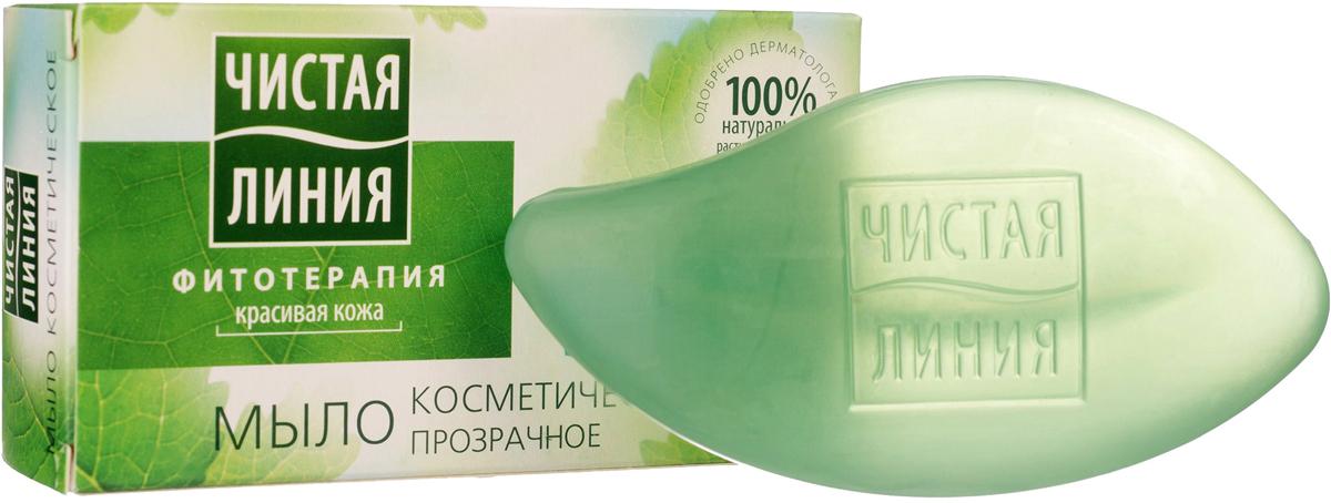 Чистая Линия Фитотерапия Твердое мыло Экстракт мелиссы 80 гр