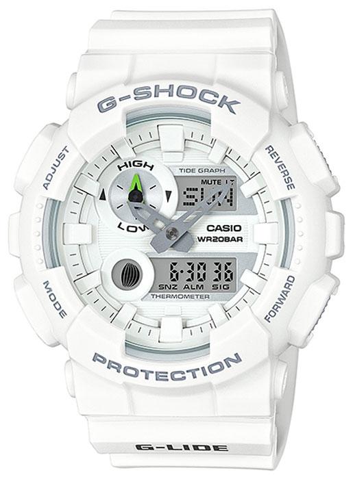 Часы наручные мужские Casio G-Shock, цвет: белый. GAX-100A-7AGAX-100A-7AКомбинированные стрелочные + электронные