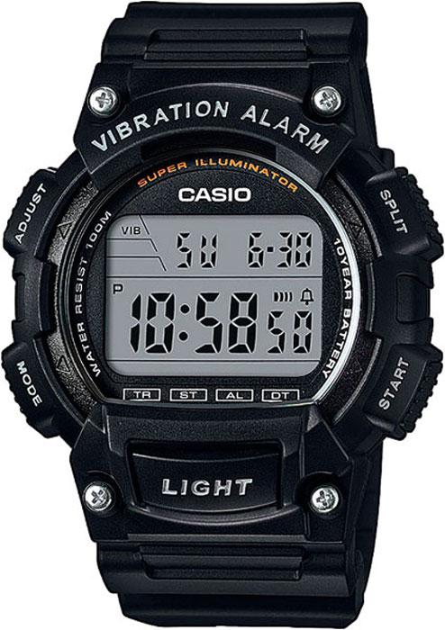 Часы наручные Casio Collection, цвет: черный. W-736H-1AW-736H-1A