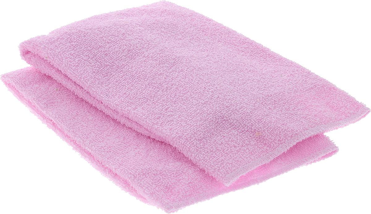 Салфетка автомобильная Главдор, для мойки и полировки, цвет: розовый, 39 х 39 см, 2 штGL-89-003_розовыйСалфетки Главдор выполнены из мягкой махровой ткани (100% хлопок). Изделия хорошо подходят для удаления пыли, нанесения очистителей и полиролей, также используются для располировки автомобильной косметики на любых поверхностях автомобиля. Можно стирать, многократного применения.