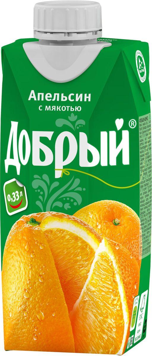Добрый Апельсиновый нектар, 0,33 л 1487501