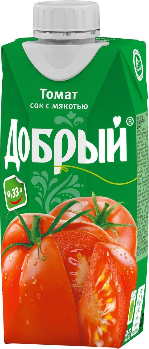 Добрый Томатный сок, 0,33 л 1487901