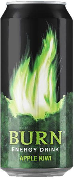 Burn Apple Kiwi энергетический напиток, 0,5 л1582001Burn - это источник энергии для активной жизни 24/7. В состав Burn входит три важных компонента - кофеин, таурин и гуарана, которые помогают снизить усталость, поддерживают работоспособность и концентрацию внимания. Burn эенергетический напиток, который позволяет постоянно находиться в движении, все успевать, быть в курсе самых жарких событий, творить, выдумывать, пробовать. Это энергия в новом формате в любое время от рассвета до рассвета!