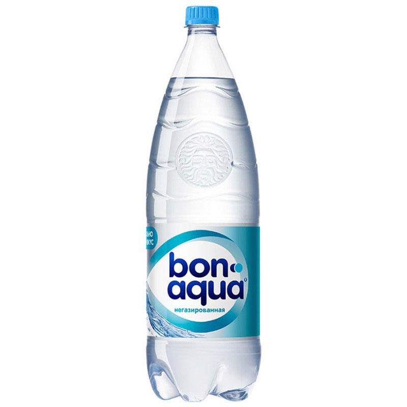 BonAqua Вода чистая питьевая негазированная, 1 л 325204