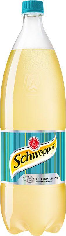 Schweppes Биттер Лемон напиток сильногазированный, 1,5 л 1342002