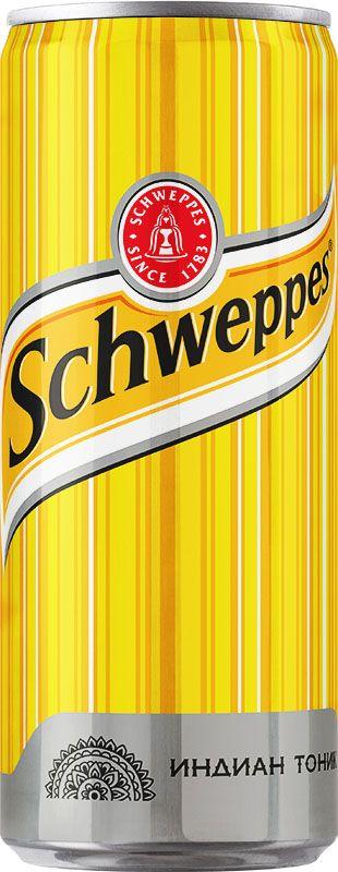 Schweppes Индиан Тоник напиток сильногазированный, 0,33 л 215401