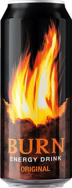 Burn Original энергетический напиток, 0,5 л297705Burn - это источник энергии для активной жизни 24/7. В состав Burn входит три важных компонента - кофеин, таурин и гуарана, которые помогают снизить усталость, поддерживают работоспособность и концентрацию внимания. Burn эенергетический напиток, который позволяет постоянно находиться в движении, все успевать, быть в курсе самых жарких событий, творить, выдумывать, пробовать. Это энергия в новом формате в любое время от рассвета до рассвета!