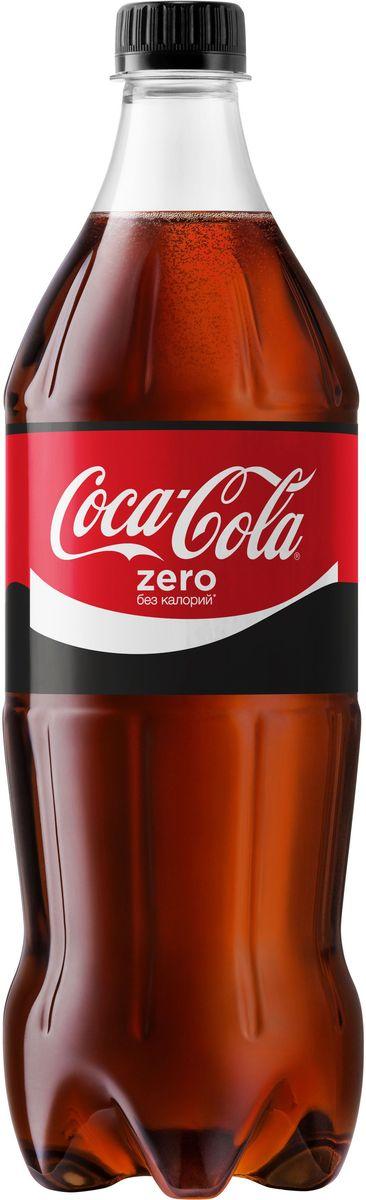 Coca-Cola Zero напиток сильногазированный, 1 л