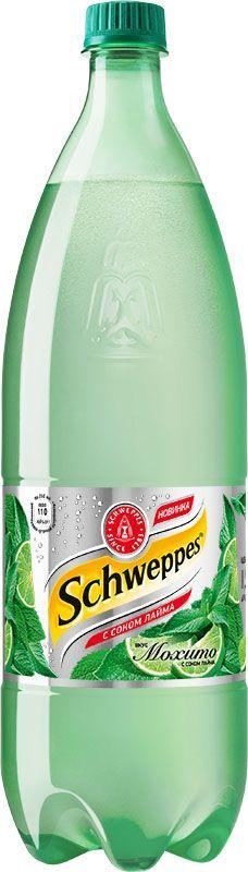 Schweppes Мохито – освежающий напиток со вкусом лайма и мяты с традиционной для Schweppes горчинкой. Это изысканный продукт, пополнивший портфель бренда Schweppes в 2015 году.