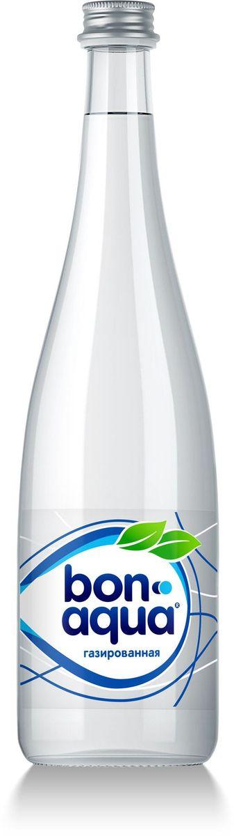 BonAqua Вода чистая питьевая газированная, 0,75 л1400001BonAqua - это кристально чистая питьевая вода, высокого качества. BonAqua - известная и любимая в России марка. Производство воды Bon Aqua началось в Германии в 1988 году. В России запуск питьевой воды Bon Aqua был успешно осуществлен в 1994 году. BonAqua проходит 7-ми ступенчатую систему очистки и водоподготовки. Производится в строгом соответствии с высочайшими стандартами качества компании Coca-Cola. Содержит минеральные элементы (Ca, Mg). Обладатель золотой медали в категории Бутилированная вода выставки Вода: экология и технология (ЭКВАТЭК) . В России BonAqua 6 раз признавалась Товаром Года.