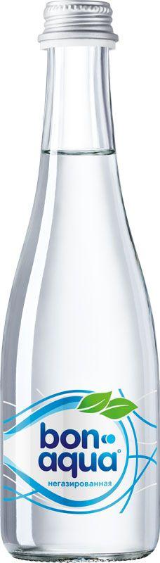 BonAqua Вода чистая питьевая негазированная, 0,33 л 1384401