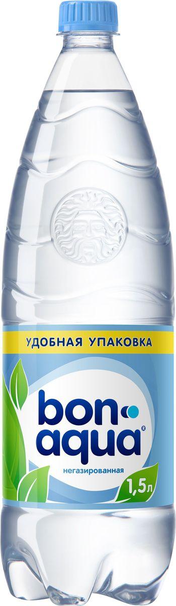 """Bon Aqua - это кристально чистая питьевая вода, высокого качества. Bon Aqua - известная и любимая в России марка. Производство воды Bon Aqua началось в Германии в 1988 году. В России запуск питьевой воды Bon Aqua был успешно осуществлен в 1994 году. Bon Aqua проходит 7-ми ступенчатую систему очистки и водоподготовки. Производится в строгом соответствии с высочайшими стандартами качества компании Coca-Cola. Содержит минеральные элементы (Ca, Mg). Обладатель золотой медали в категории """"Бутилированная вода"""" выставки """"Вода: экология и технология (ЭКВАТЭК)"""" В России Bon Aqua 6 раз признавалась Товаром Года."""