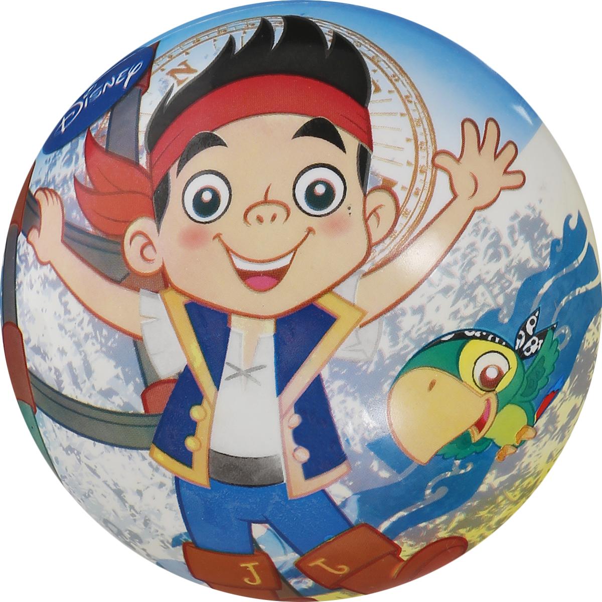 Мяч John Джек и пираты Нетландии, 13 см54072/50072WDЯркий детский мяч John Джек и пираты Нетландии - это игрушка для детей любого возраста. Он выполнен из ПВХ и оформлен ярким рисунком. Мяч незаменим для любителей подвижных игр и активного отдыха, подходит для игр на воде. Игры с мячом развивают координацию движений, способствуют физическому развитию ребенка.