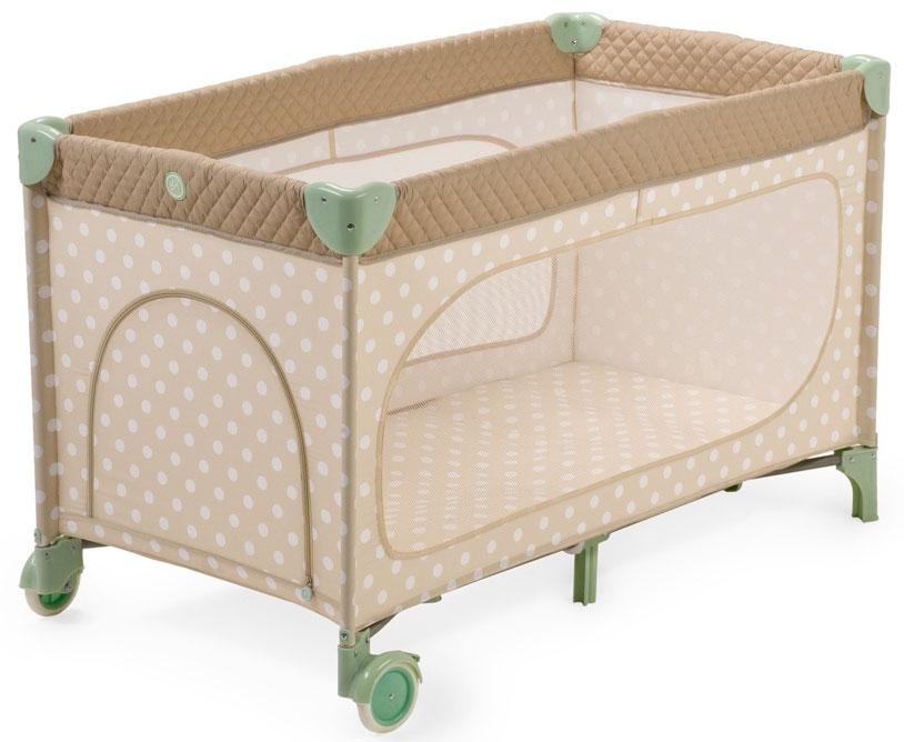 Happy Baby Кровать-манеж Martin Beige4690624016806Элегантный манеж Happy Baby Martin, легко превращающийся в комфортабельную кроватку. Выполнен из современных, легких материалов. Ткань приятна на ощупь и удобна в эксплуатации. Большие окна обеспечивают вентиляцию, прекрасное освещение и позволяют хорошо видеть малыша, когда он спит или играет. Колесики делают удобным перемещение манежа-кроватки по дому. Все углы и опасные для ребенка поверхности защищены специальными атравматичными накладками. В комплектацию входит съемный жесткий матрасик, дополнительный второй уровень, а для активных малышей предусмотрен лаз. Каркас: периодически очищайте пластиковые части влажной тканью. Не пользуйтесь растворителями и схожими веществами. Тканые материалы: протирайте влажной губкой с мыльным раствором, не пользуйтесь моющими средствами. Не выкручивайте, не отбеливайте, не сушите в стиральной машине, не гладьте.