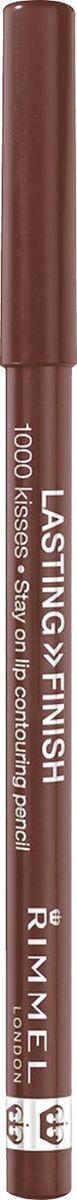 Rimmel Карандаш для губ Lasting Finish, тон № 049 (nude), 1,2 г34001012049Деревянный стойкий карандаш для губ LASTING FINISH 1000 KISSES Точное нанесение позволяет усовершенствовать форму ваших губ Не дает помаде растекаться и смазываться