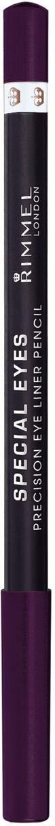 Rimmel Контурный карандаш для глаз Special Eye Liner Pencil Re-pack, тон № 111, 1,2 г34007214111Позволяет создать тонкую и отчетливую линию одним движением Стойкая формула сохраняет безупречный результат в течение дня