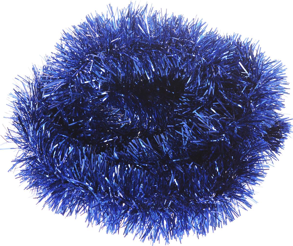 Мишура новогодняя House & Holder, цвет: синий, диаметр 4 см, длина 200 смHT23775_синийМишура новогодняя House & Holder поможет вам украсить свой дом к предстоящим праздникам. Новогодняя елка с таким украшением станет еще наряднее. Новогодней мишурой можно украсить все, что угодно - елку, квартиру, дачу, офис - как внутри, так и снаружи. Можно сложить новогодние поздравления, буквы и цифры, мишурой можно украсить и дополнить гирлянды, можно выделить дверные колонны, оплести дверные проемы.