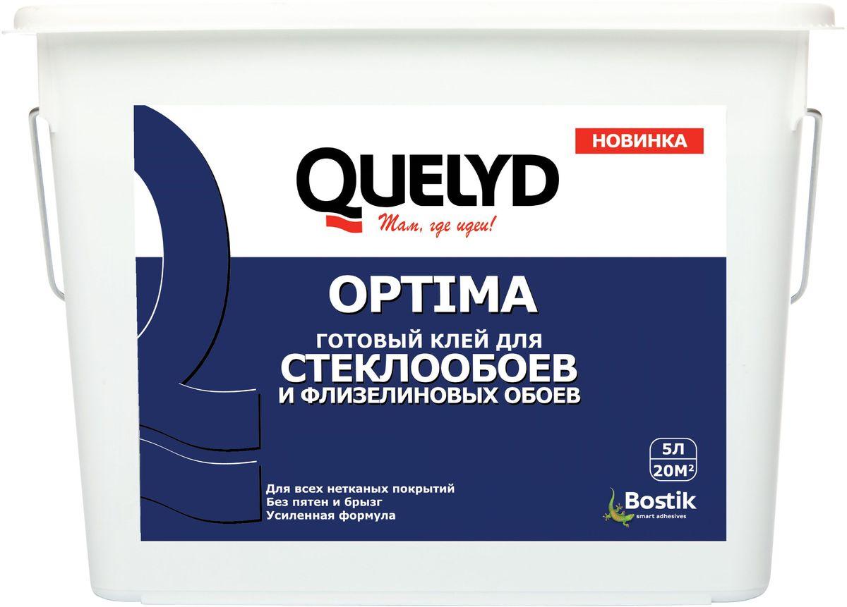 """Клей для стеклообоев Quelyd """"Optima"""", готовый, 5 л 7475"""