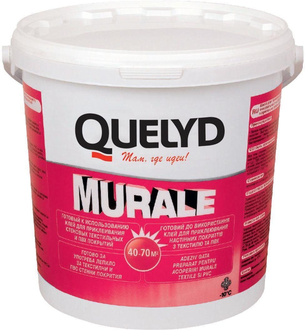 "Клей для настенных покрытий Quelyd ""Murale"", 5 кг 30041630"