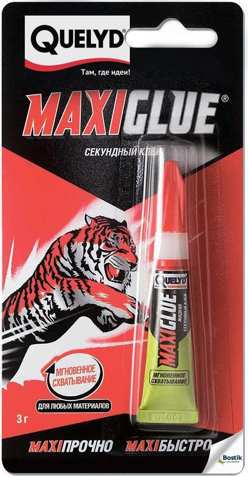 """Секундный клей Quelyd """"Maxiglue"""", 3 г R161360"""