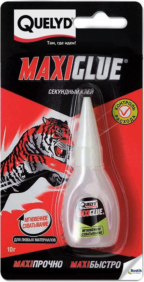 """Секундный клей Quelyd """"Maxiglue"""", 10 г R161361"""