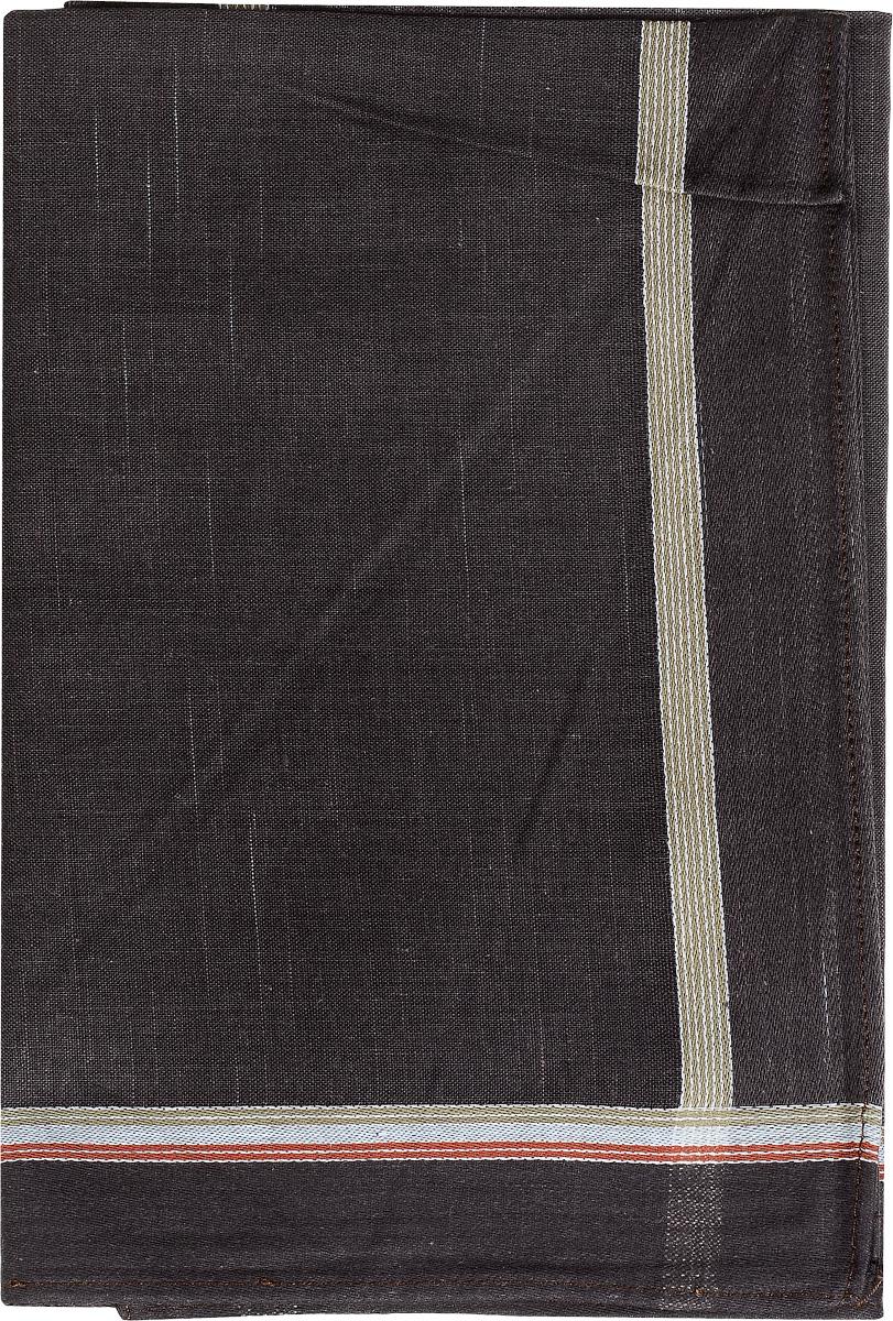 Платок носовой мужской Zlata Korunka, цвет: темно-коричневый. 45480. Размер 40 см х 40 см45480_коричневыйМужской носовой платой Zlata Korunka, изготовленный из хлопка с добавлением полиэстера, приятен в использовании и хорошо стирается. Материал не садится и отлично впитывает влагу. Модель оформлена по краям контрастными полосками.