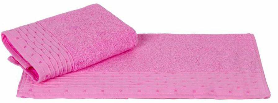 Полотенце Hobby Home Collection Gofre, цвет: розовый, 70 х 140 см1501001046Полотенце Hobby Home Collection Gofre выполнено из 100% хлопка. Изделие отлично впитывает влагу, быстро сохнет, сохраняет яркость цвета и не теряет форму даже после многократных стирок. Такое полотенце очень практично и неприхотливо в уходе. А простой, но стильный дизайн полотенца позволит ему вписаться даже в классический интерьер ванной комнаты.