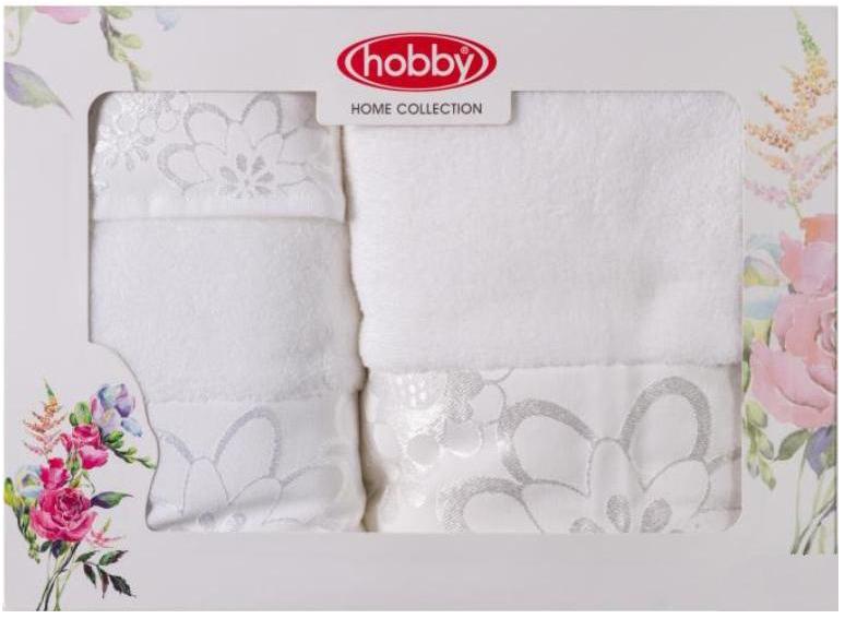 Полотенце махровое Hobby Home Collection Dora, цвет: белый, 30х50 см, 50х90 см, 70х140 см, 3 шт1501001214Полотенца марки Хобби уникальны и разрабатываются эксклюзивно для данной марки. При создании коллекции используются самые высокотехнологичные ткацкие приемы. Дизайнеры марки украшают вещи изысканным декором. Коллекция линии соответствует актуальным тенденциям, диктуемым мировыми подиумами и модой в области домашнего текстиля.