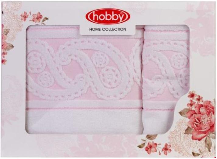 Набор полотенец Hobby Home Collection Hurrem, цвет: белый, 2 шт1501001221Набор Hobby Home Collection Hurrem состоит из двух махровых полотенец, выполненных из натурального 100% хлопка. Изделия мягкие, отлично впитывают влагу, быстро сохнут, сохраняют яркость цвета и не теряют форму даже после многократных стирок. Полотенца Hobby Home Collection Hurrem очень практичны и неприхотливы в уходе. Они легко впишутся в любой интерьер благодаря своей нежной цветовой гамме. Размер полотенец: 50 х 90 см; 70 х 140 см.