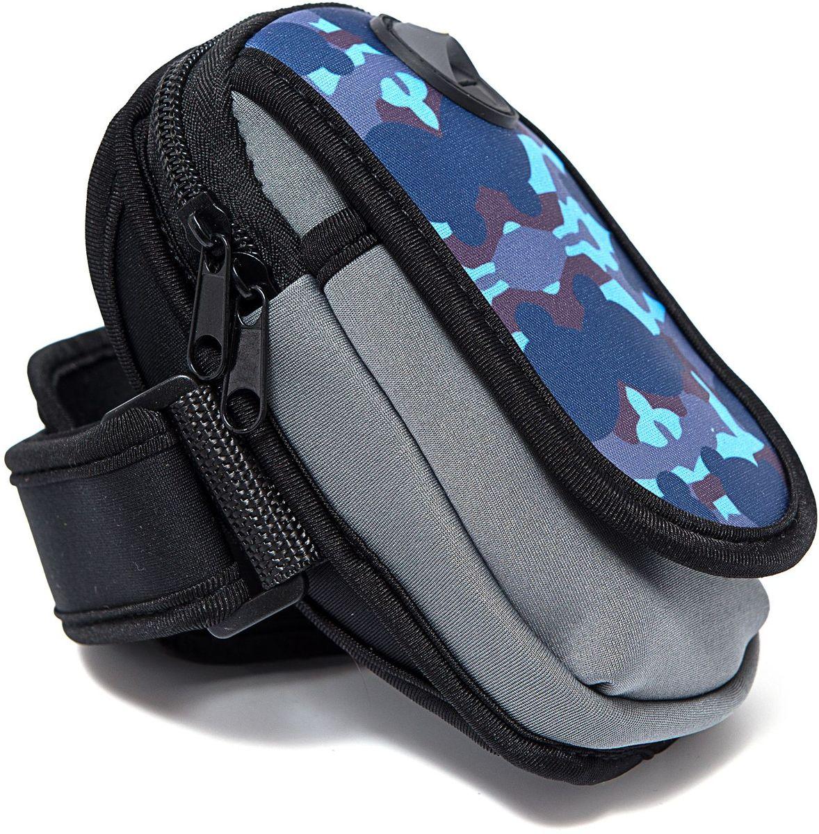 Органайзер Homsu, цвет: темно-синий, 15 х 9 смR-141Органайзер на руку - оригинальный и практичный аксессуар, выполнен в яркой расцветке, имеет отверстие для наушников, удобно крепится на руку. Незаименимая вещь для тех, кто ведет активный образ жизни. Размер изделия: 15х9см